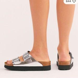 NEW Birkenstock papillio Arizona platform sandals